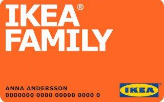 Клуб IKEA FAMILY, главные преимущества Финансовой карты. Как ее получить