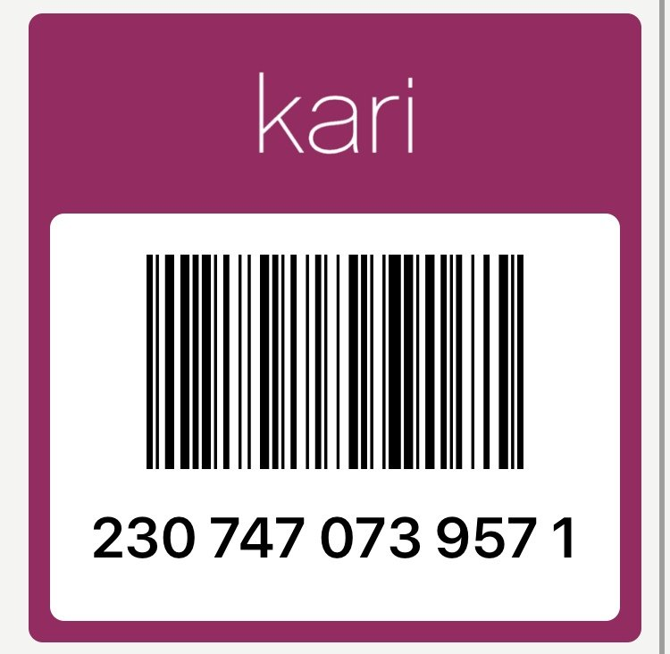 карта Kari